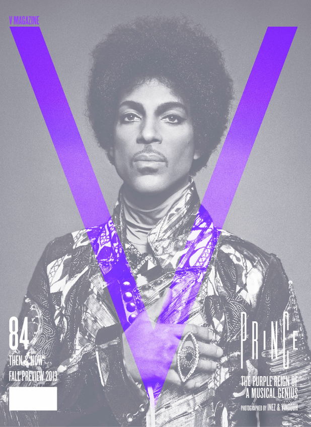 Prince covers V Magazine for August 2013