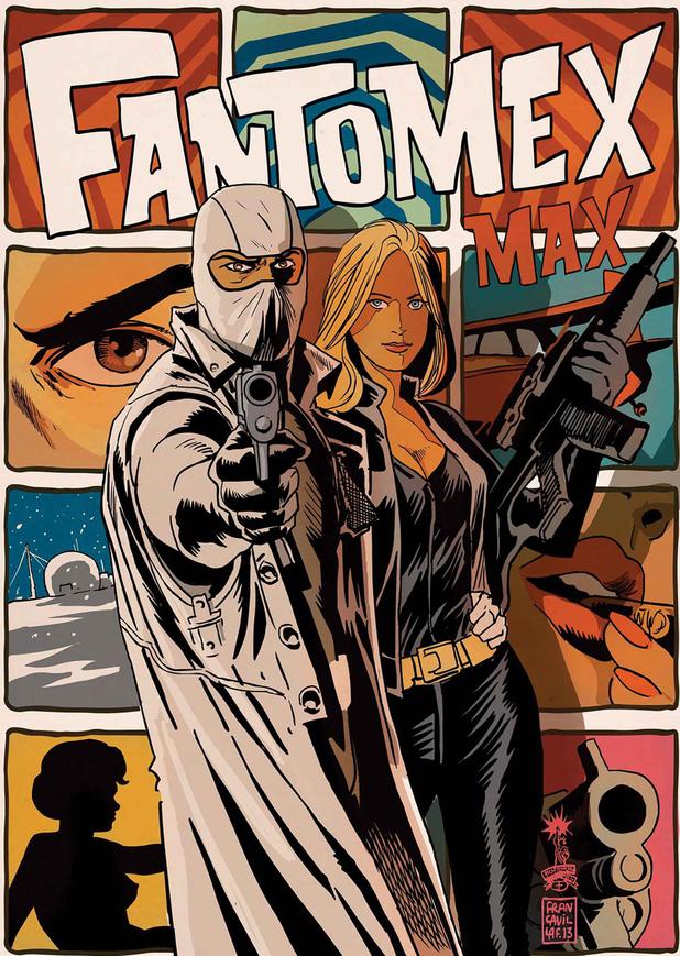 'Fantomex MAX' artwork