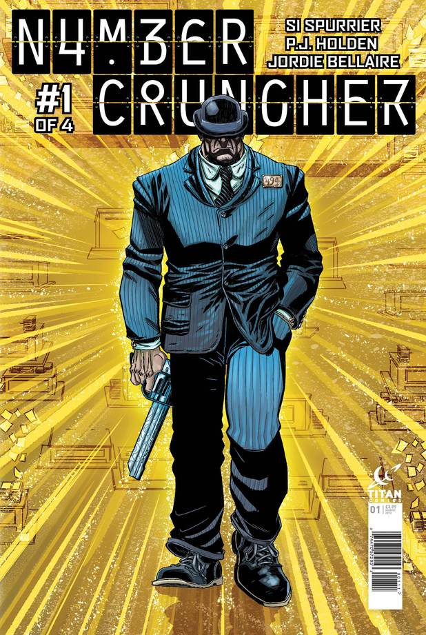 Numbercruncher' #1 cover