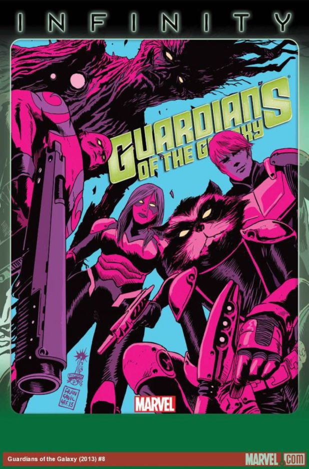 Guardians of The Galaxy #8 cover artwork