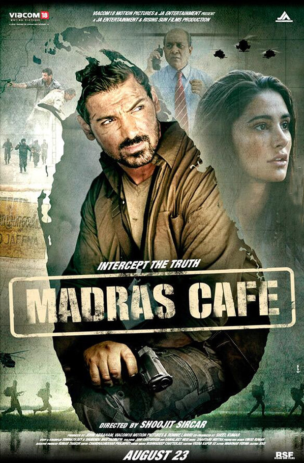 Download Madras Cafe (2013) (STUDiO AUDiO) DVDSCR Rip x264 - 500MB