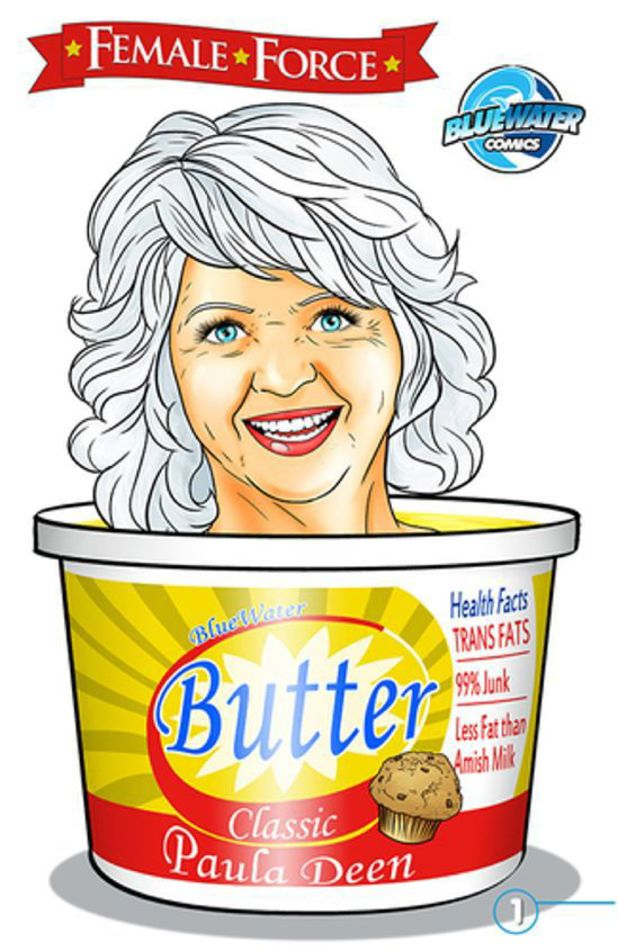 'Female Force: Paula Deen' artwork