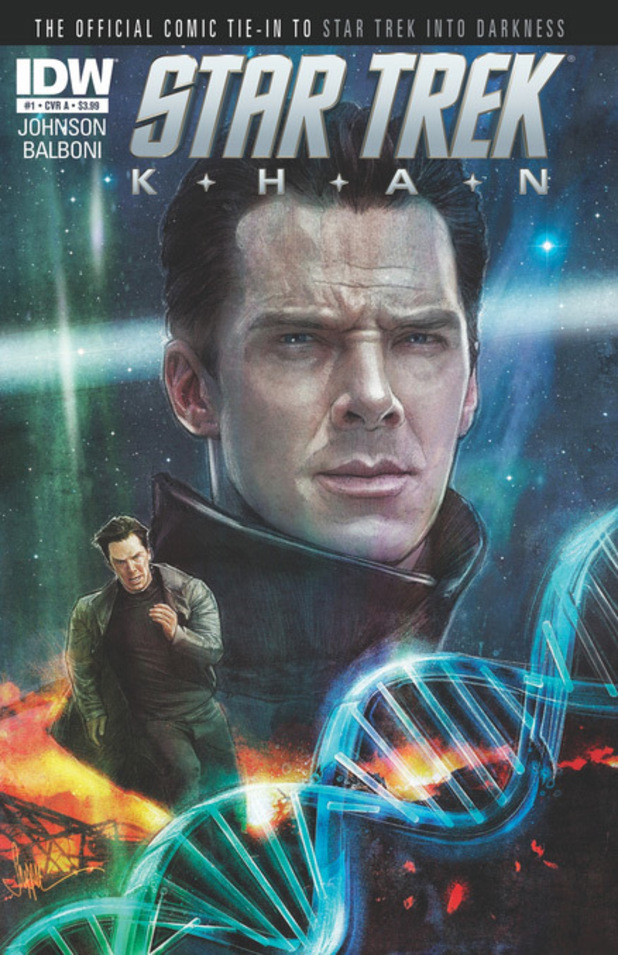 'Star Trek: Khan' comic cover