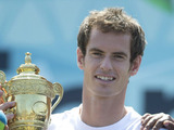 Andy Murray, 'The Winner' an Adidas event with Wimbledon Champion Andy Murray who wad a knock about with fans, wardrobe malfunction