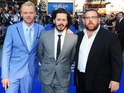 The stars arrive for the premiere of Edgar Wright's comedy at Leicester Square.