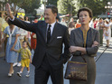 Tom Hanks and Emma Thompson in 'Saving Mr Banks'