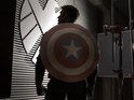 Steve Rogers pursues the Winter Soldier in the clip from Marvel's sequel.