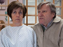 Actor David Neilson says Roy is trying to be strong for Hayley.