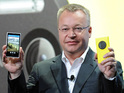 Strong sales of the company's Lumia smartphone help it overtake BlackBerry.