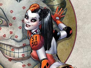 Harley Quinn #1 cover design