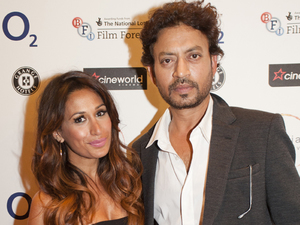 Irrfan Khan and Preeya Kalidas