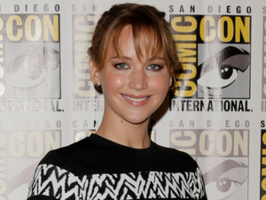 "Jennifer Lawrence attends the ""The Hunger Games: Catching Fire"" press line"