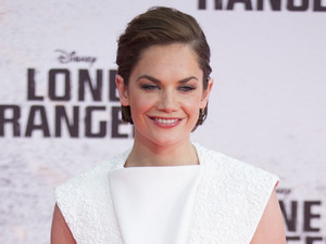 "Ruth Wilson poses as she arrives for the German premiere of the movie ""The Lone Ranger"" in Berlin."