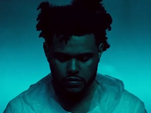 The Weeknd 'Belong to the World' video still.