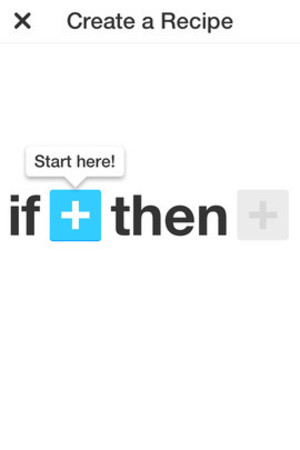 IFTTT on iOS