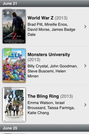 IMDb app screenshot