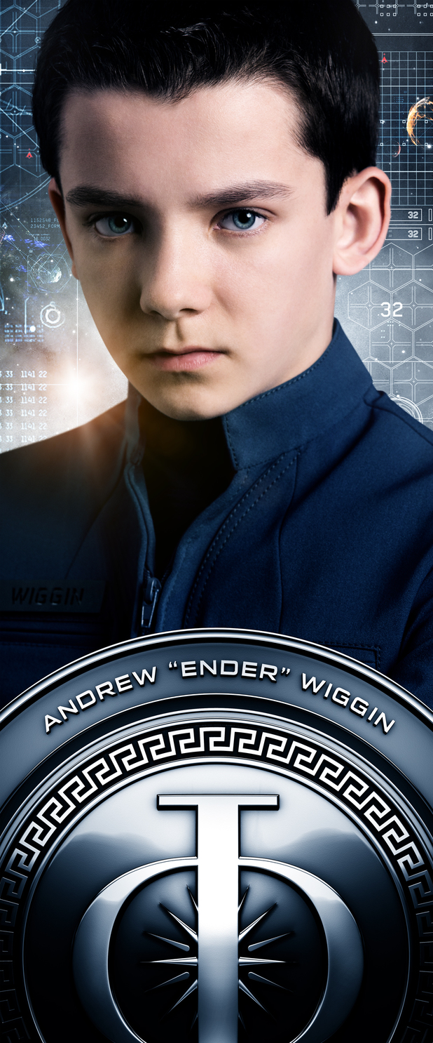Ender's Game Characters Banners: Andrew 'Ender' Wiggin