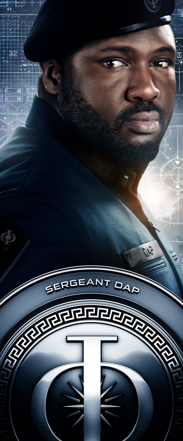 Ender's Game Characters Banners: Sergeant Dap
