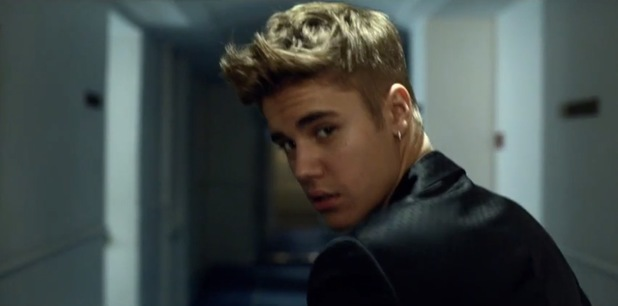 Justin Bieber in The Key commercial.