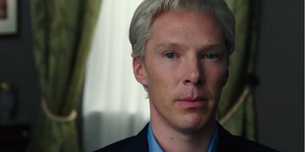 Benedict Cumberbatch as Julian Assange in 'The Fifth Estate'