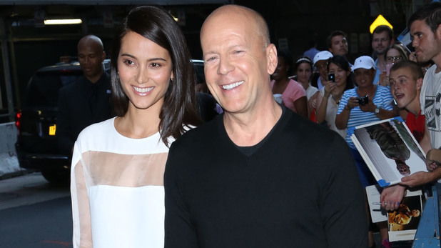 Emma Heming, Bruce Willis, Red 2 premiere