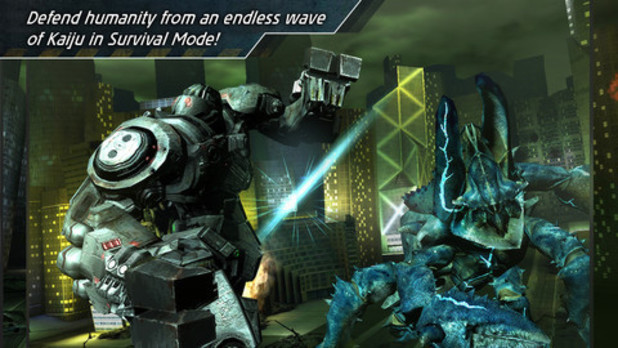 'Pacific Rim' mobile screenshot