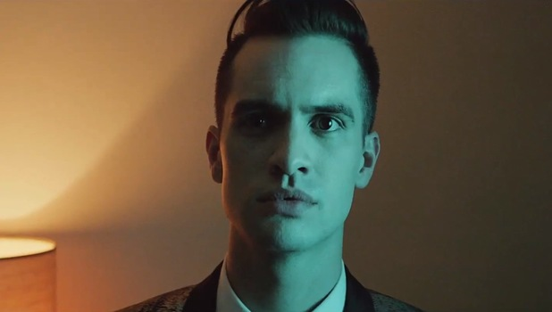 Panic! At The Disco 'Miss Jackson' video still.