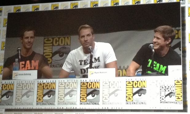 Jason Dohring, Ryan Hansen and Chris Lowell at 'Veronica Mars' Comic-Con panel