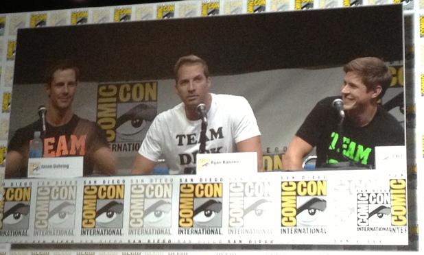 Jason Dohring, Ryan Hansen and Chris Lowell at 'Veronica Mars' Comic-Con panel