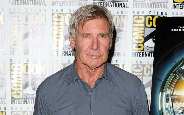 Harrison Ford at the 'Ender's Game' photocall at Comic-Con 2013