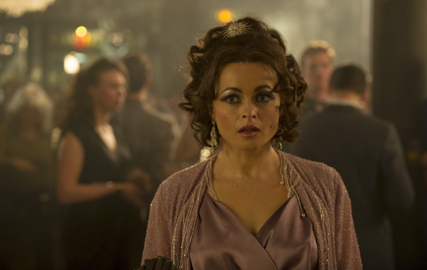 Helena Bonham Carter as Elizabeth Taylor in 'Burton and Taylor'