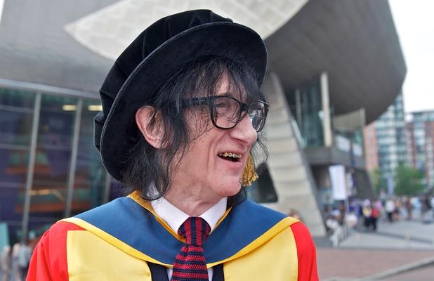 John Cooper Clarke at the University of Salford
