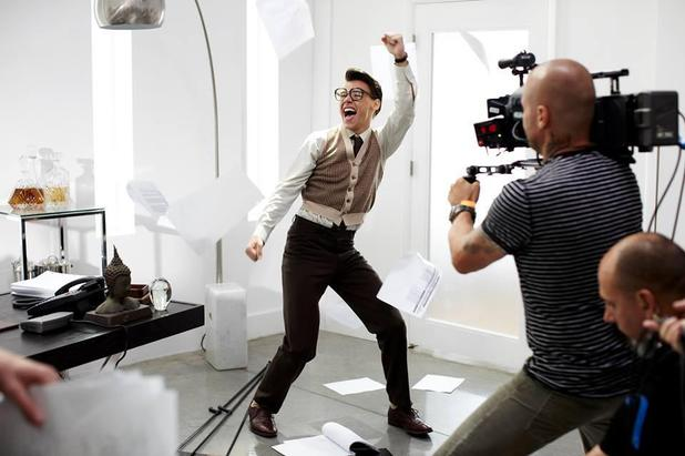 Harry Styles in 'Best Song Ever' music video.
