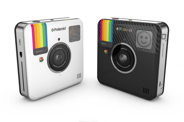 Polaroid's Socialmatic camera