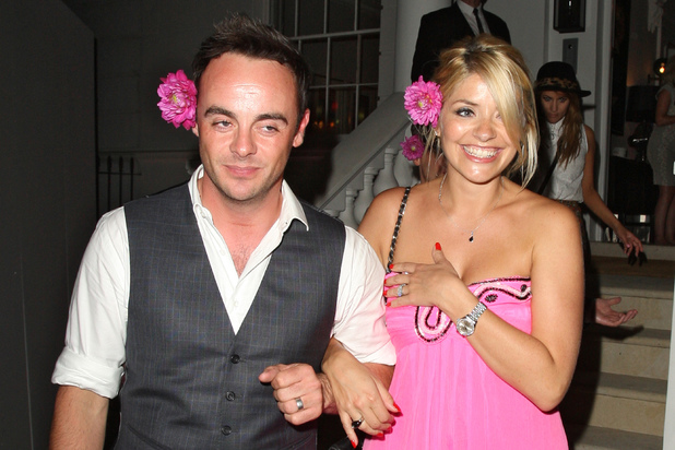Ant McPartlin and Holly Willoughby