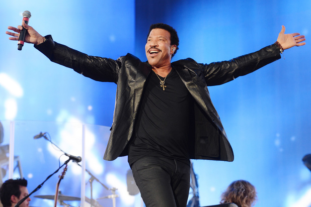 Lionel Richie performing in Hyde Park as part of Barclaycard British Summer Time