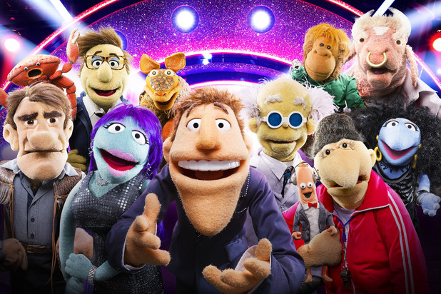 BBC One's 'That Puppet Game Show' characters