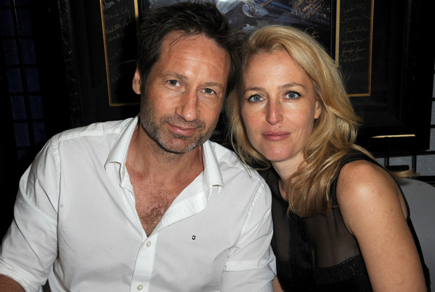 Gillian Anderson & David Duchovny reunited at Comic-Con