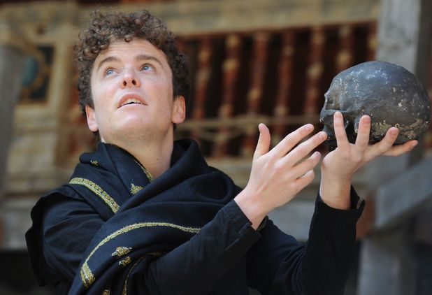 Joshua McGuire in 'Hamley' at the Globe Theatre