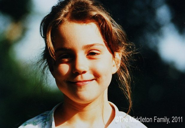 Kate Middleton & Prince William as children - pictures