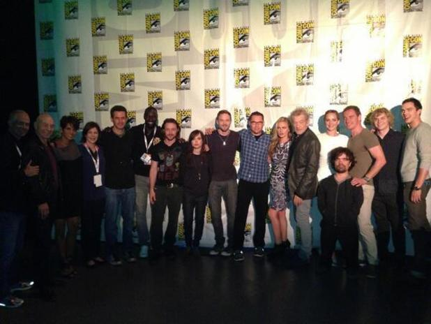 'X-Men: Days of Future Past' cast at Comic-Con 2013
