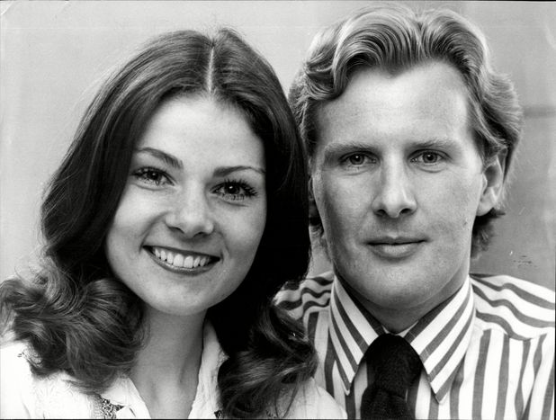 Briony McRoberts and David Robb in 1978