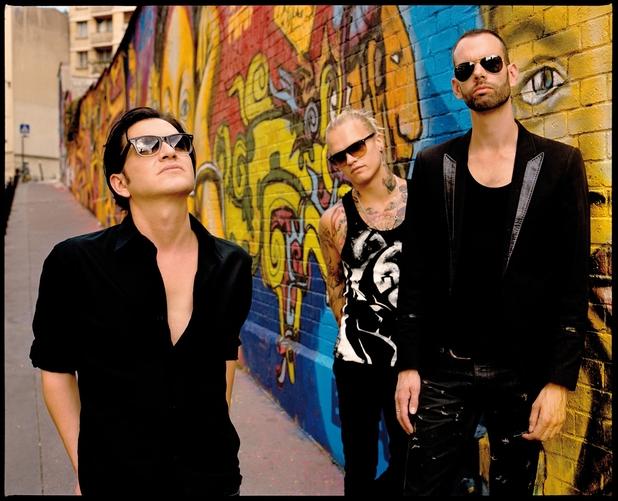 Placebo: Brian Molko, Stefan Olsdal, Steve Forrest