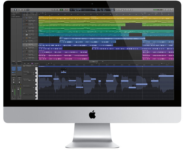 Logic Pro X on Mac