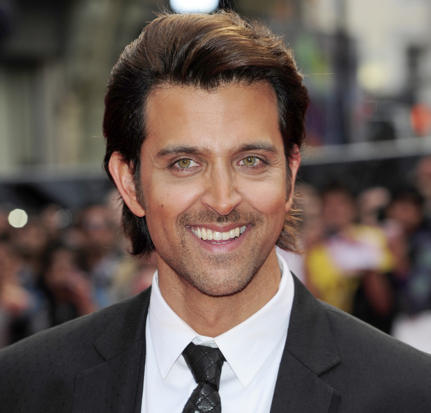 Hrithik Roshan attending the European Premiere of Bollywood film 'Kites' in London