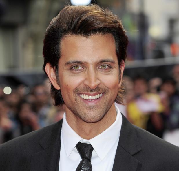 Hrithik Roshan attending the European Premiere of Bollywood film 'Kites' in London