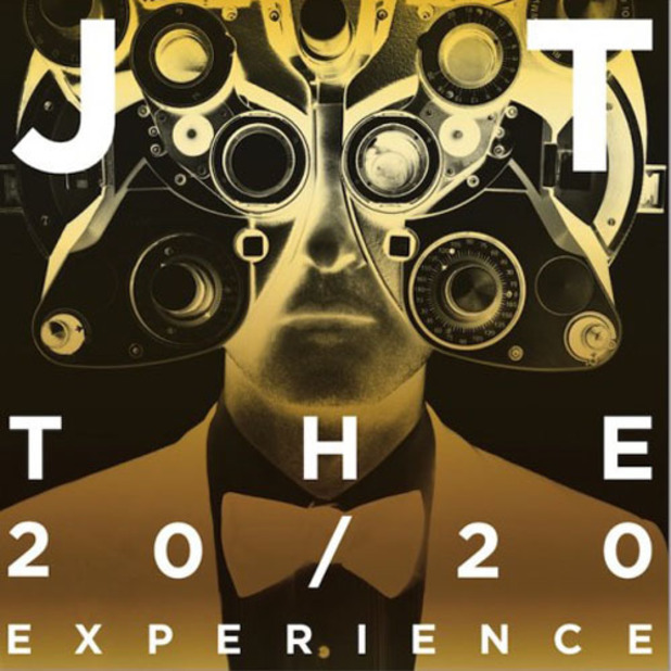 Justin Timberlake 'The 20/20 Experience' double edition artwork.