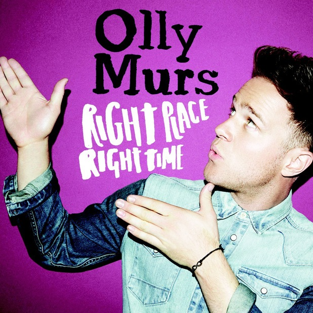 Olly Murs 'Right Place Right Time' single artwork.
