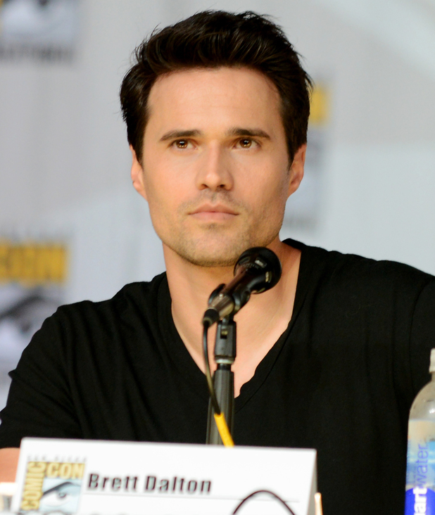 Brett Dalton attends 'Marvel's Agents of SHIELD' panel