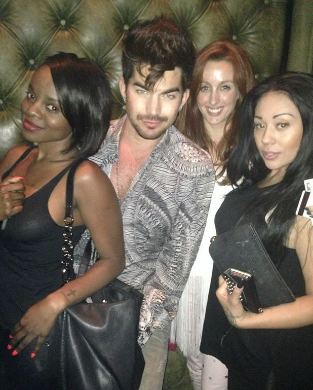 Mutya Keisha Siobhan, Adam Lambert in Los Angeles